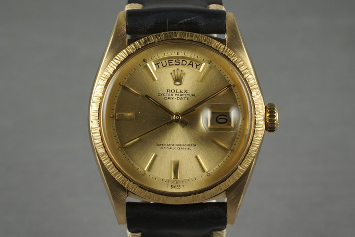 1964 Rolex YG Bark Day-Date 1807 photo