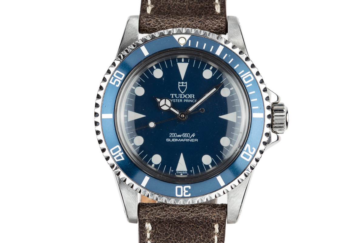 1985 Tudor Submariner 94010 Blue Dial photo, #0