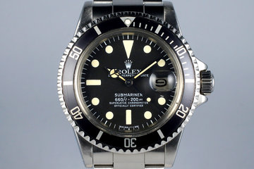 1977 Rolex Submariner 1680 with Box and Papers FULL SET photo
