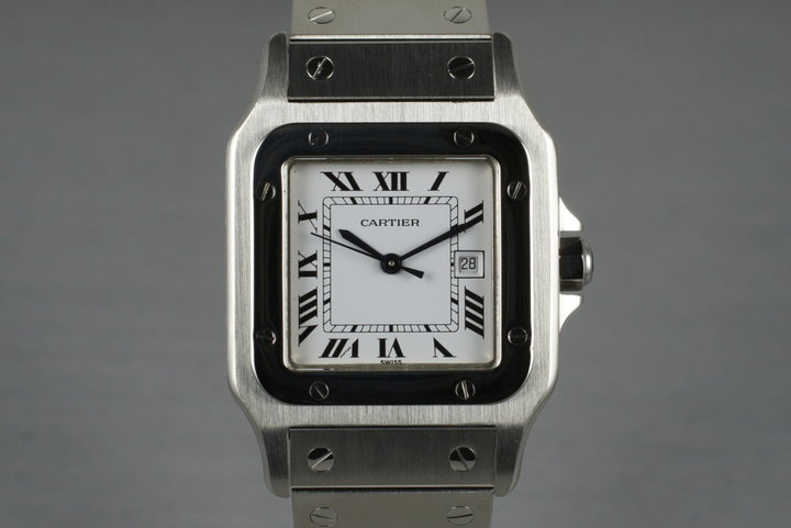 Cartier Santos W20060D6 with Box photo