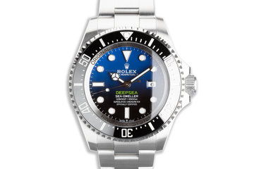 2020 Rolex James Cameron DeepSea Sea-Dweller 126660 with Box & Card photo