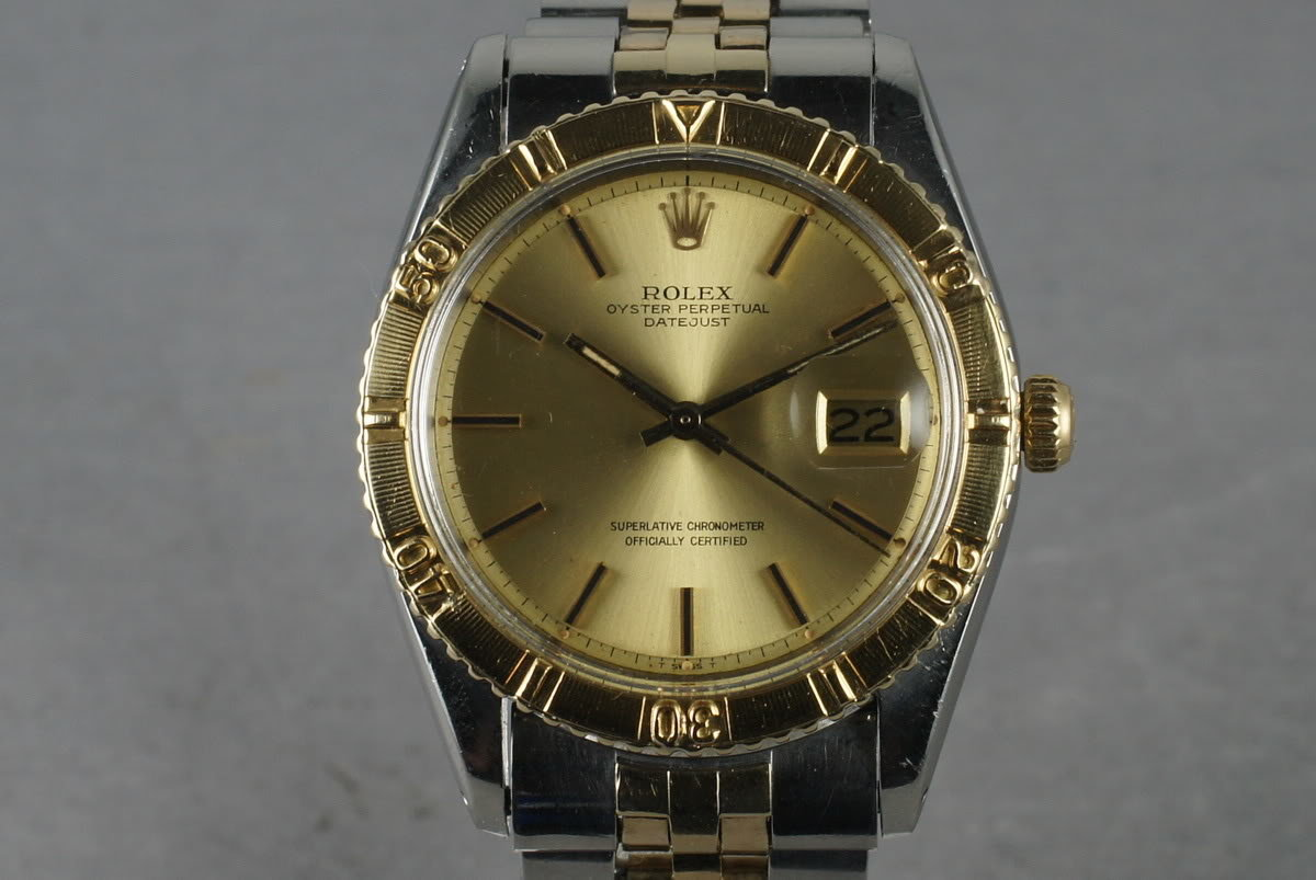1978 Rolex Two Tone DateJust 1625 Thunderbird photo, #0