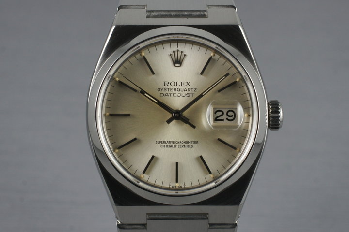 1979 Rolex OysterQuartz Datejust 17000 photo