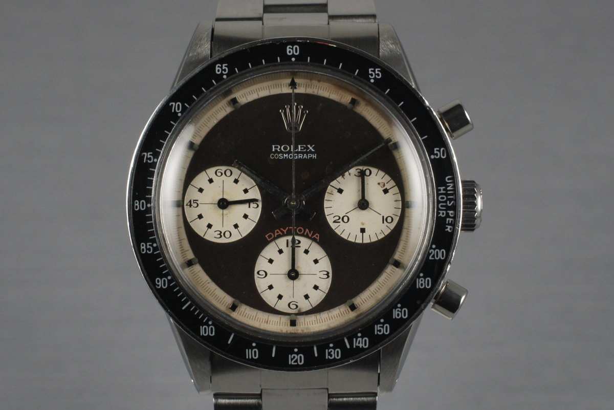 1969 Rolex Daytona 6241 with Paul Newman 3 Color Dial photo, #0