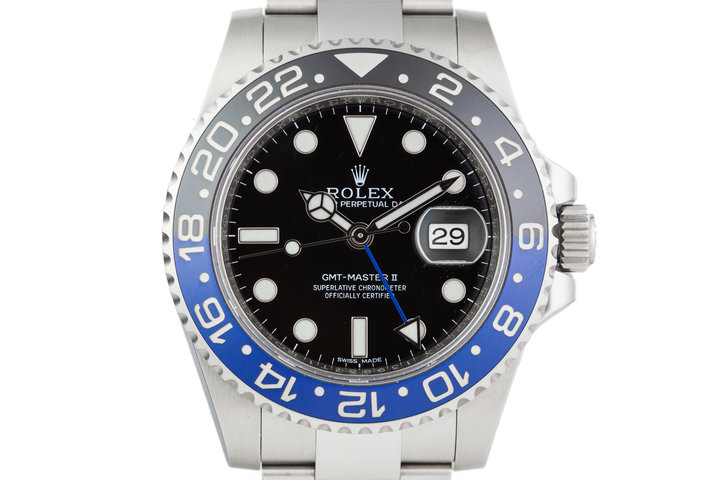 2016 Rolex GMT II 116710BLNR with Box and Papers photo
