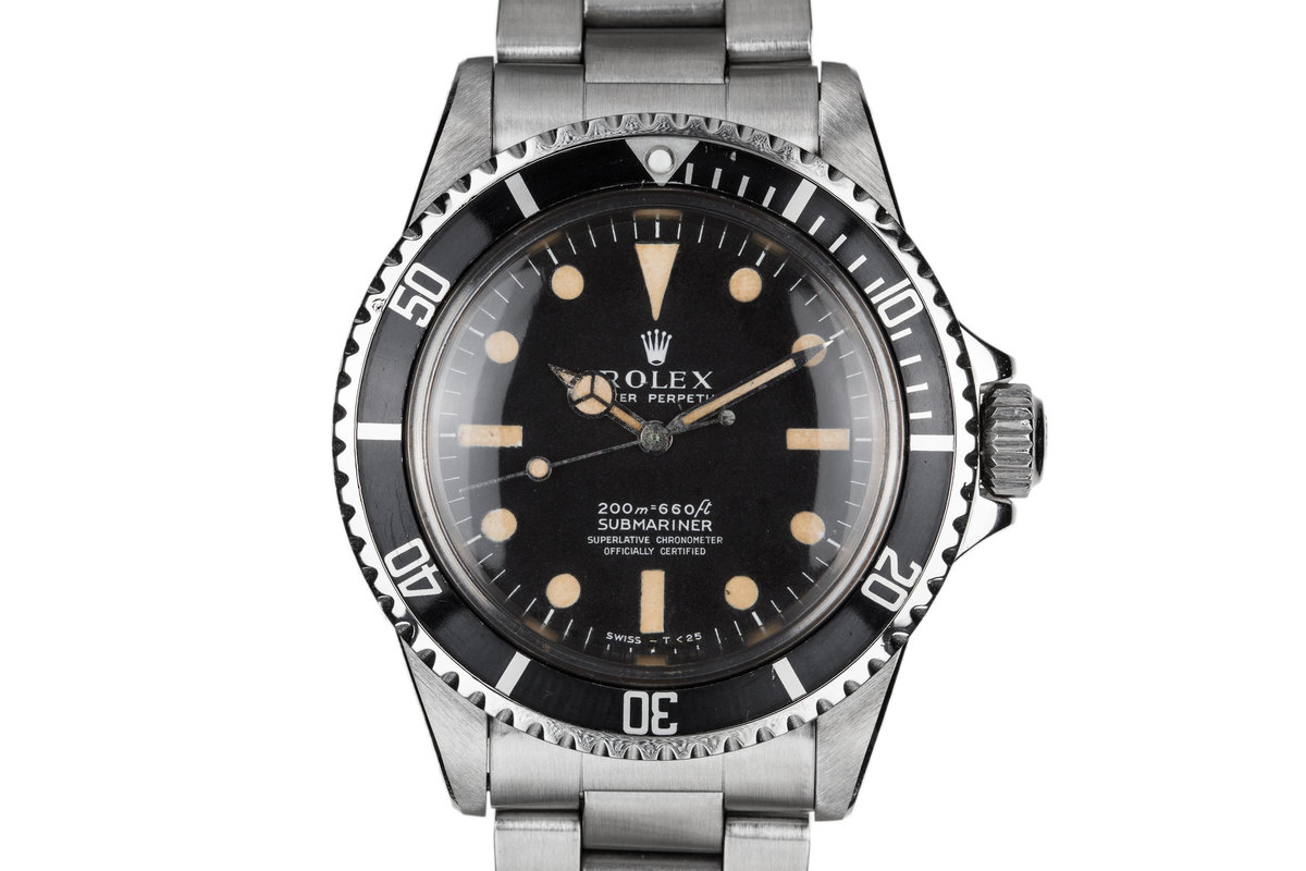 1967 Rolex Submariner 5512 Meters First Dial with Letter from Rolex USA President photo, #0