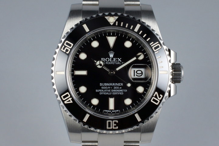 2014 Rolex Ceramic Submariner 116610LN photo