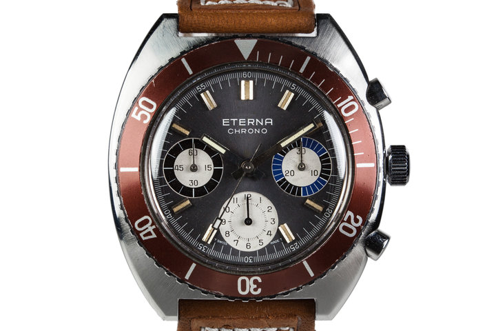 Eterna Tri-Compax Chrono Valjoux 726 photo