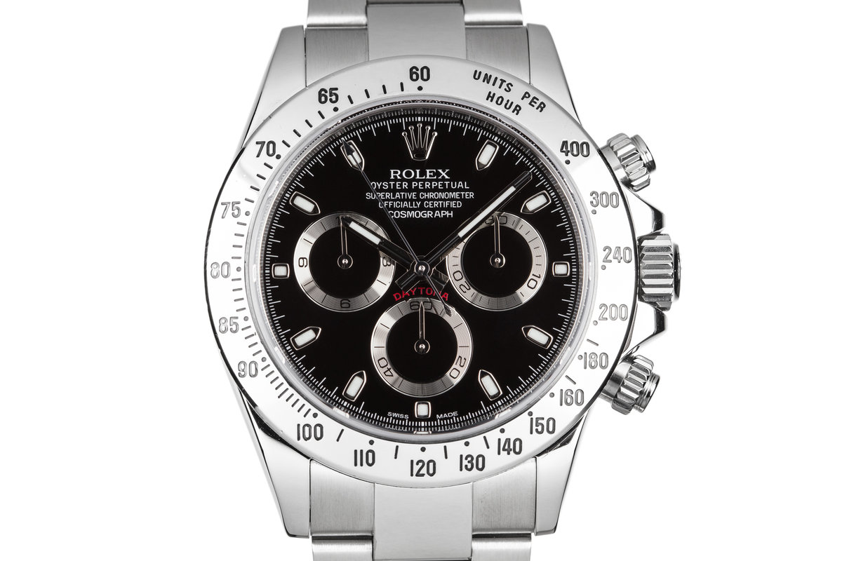 2015 Rolex Daytona 116520 with Box and Papers photo, #0