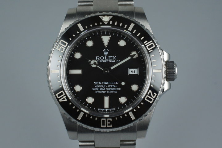 2014 Rolex Sea Dweller 116600 with Box and Papers photo