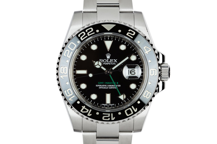 2016 Rolex GMT-Master II 116710LN Black Bezel with Box and Papers photo