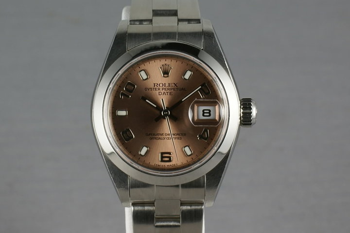 Rolex Ladies Date 79160 with Salmon Dial photo