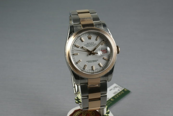 Rolex Datejust Rose Gold and Steel 116201 photo