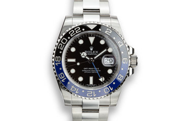 Rolex GMT-Master II 116710BLNR photo