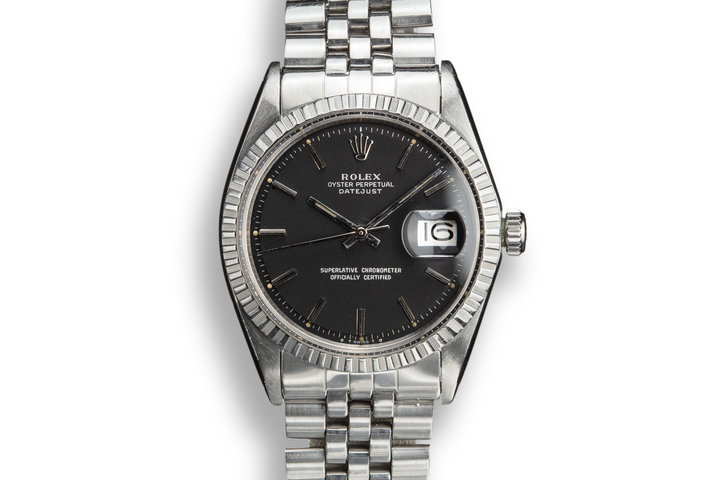 1974 Rolex DateJust 1603 with Black Sigma Dial photo