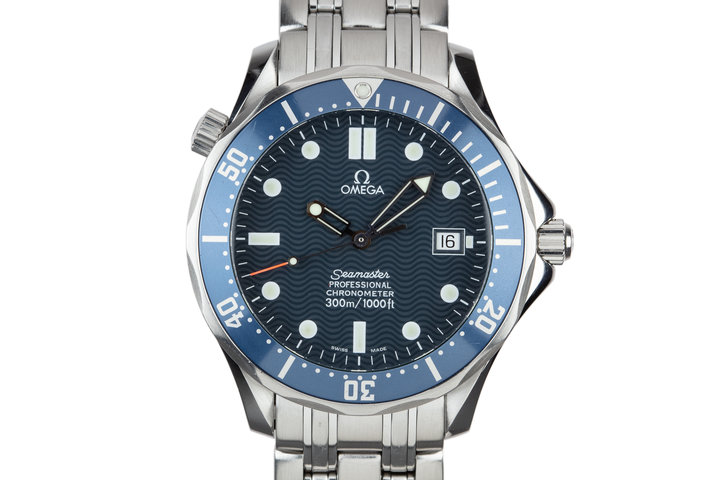 "2010 Omega Seamaster 300M ""Bond"" 2531.80 with Card photo"