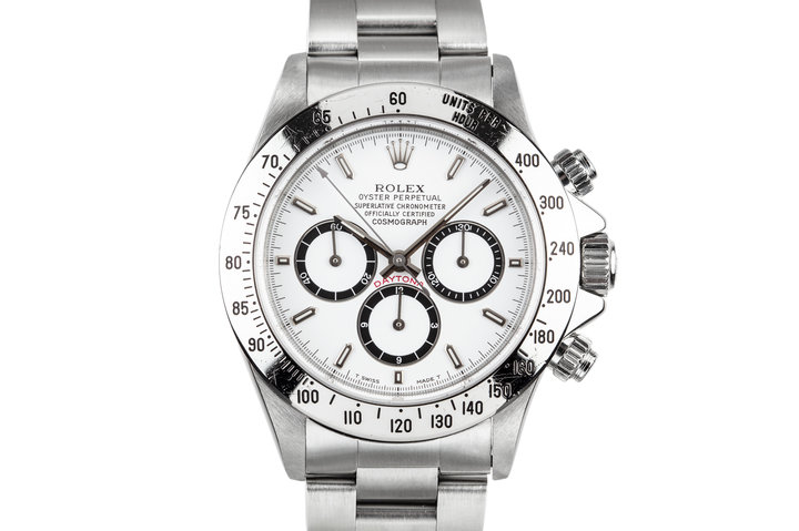 1991 Rolex Zenith Daytona 16520 with Inverted 6 White Dial photo