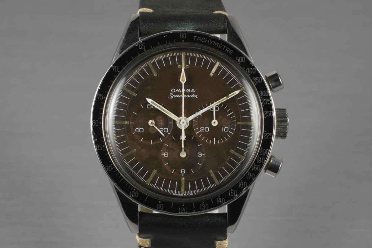 1964 Omega Speedmaster S105.003 Calibre 321 with Brown Tropical Dial photo, #0