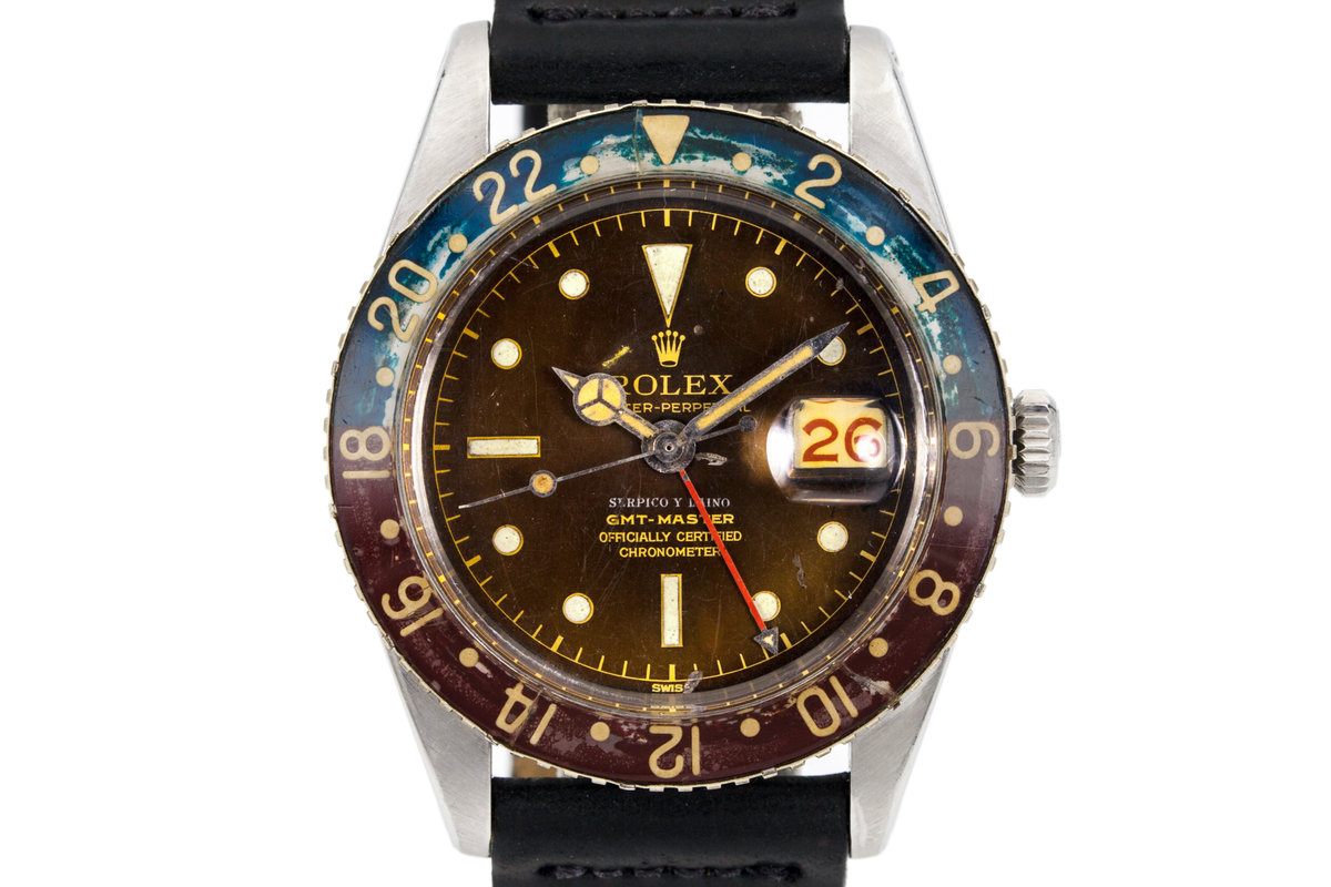 1956 Rolex GMT 6542 with Tropical Serpico Y Laino Dial photo, #0
