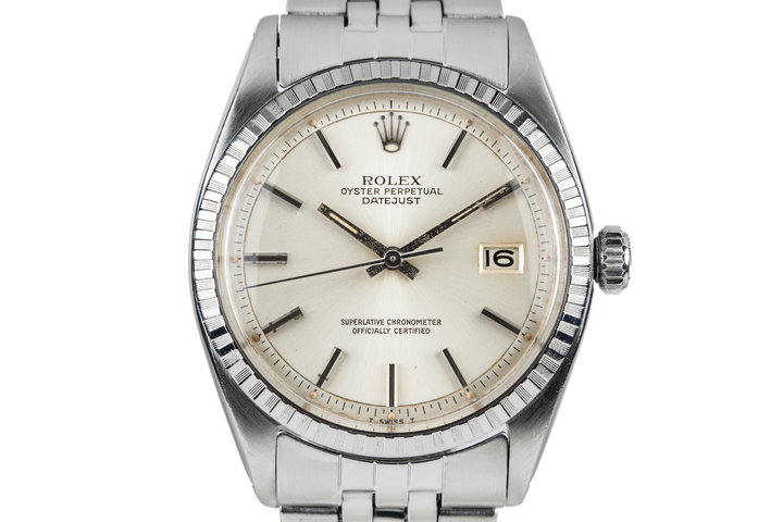 1981 Rolex DateJust 1603 Silver Dial photo