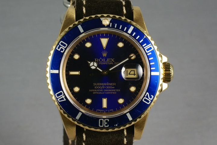 Submariner 18K 16808 photo