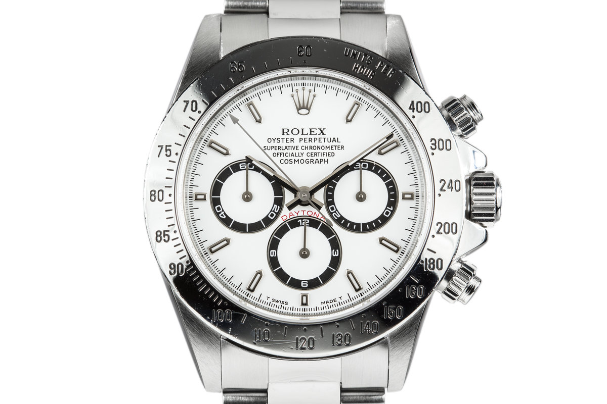 1995 Rolex Zenith Daytona 16520 White Dial photo, #0