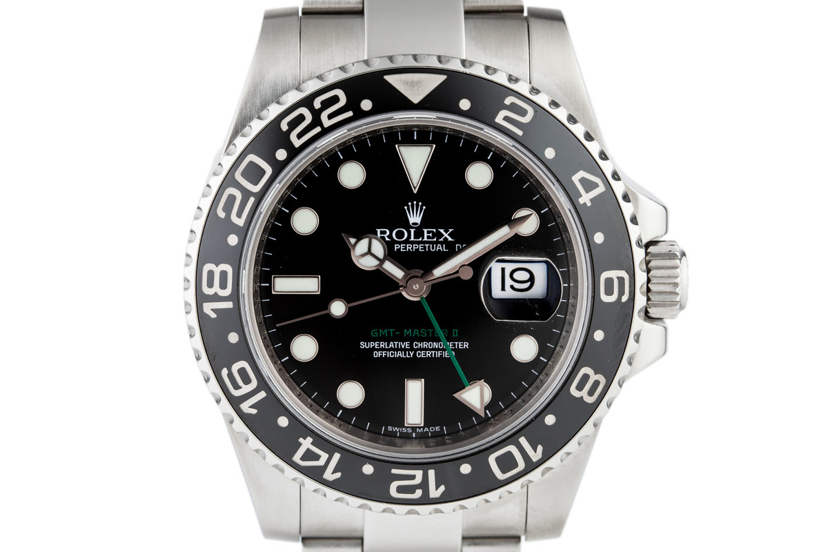 2007 Rolex GMT II 116710 photo, #0