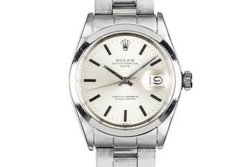 1970 Rolex Date 1500 Silver Dial photo