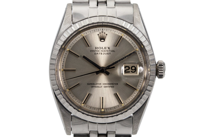 1963 Rolex DateJust 1603 with Silver Dial photo