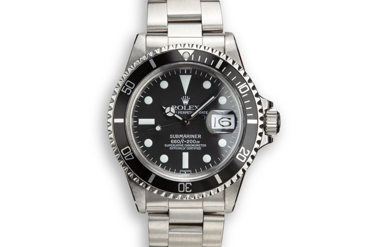1972 Rolex Submariner 1680 photo, #0