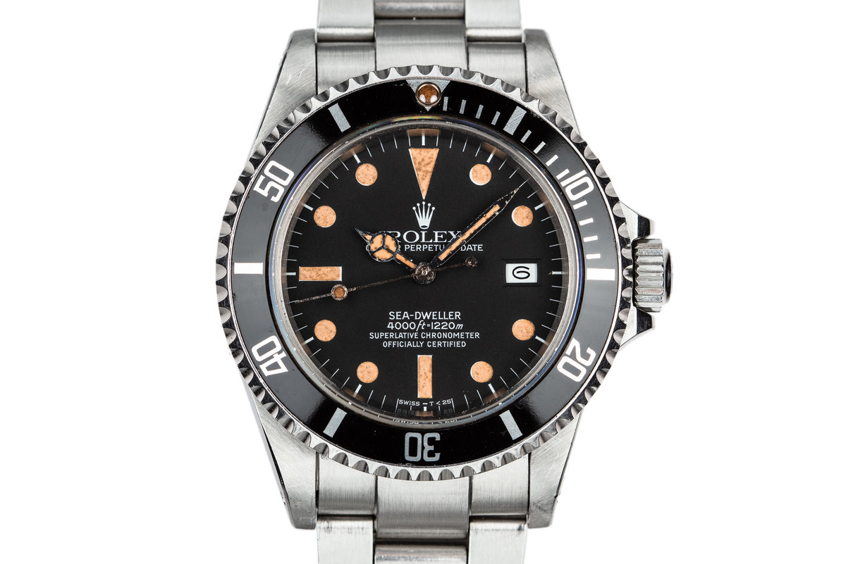 1980 Rolex Sea-Dweller 16660 Matte Dial with Box and Papers photo, #0