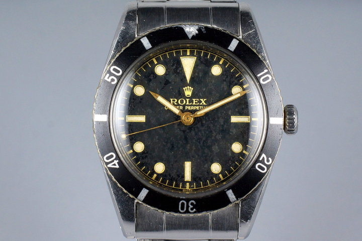1954 Rolex Submariner 6205 'No-Submariner' Dial photo