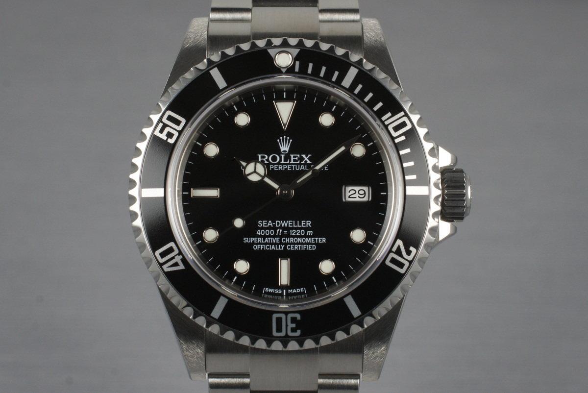 2006 Rolex Sea Dweller 16600T photo, #0