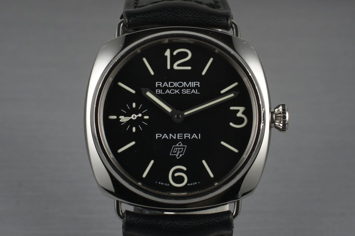 2012 Panerai PAM 380 Radiomir Black Seal with Box and Papers photo