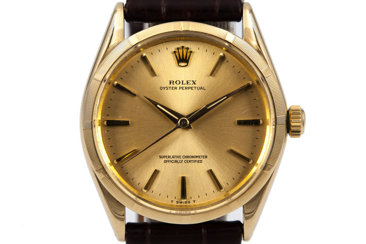 Rolex OP 1500 14K Yellow Gold photo