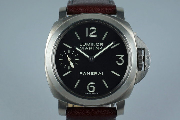 2005 Panerai PAM 177 Titanium Marina with Box and Papers photo