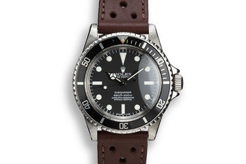 1970 Rolex Submariner 5512 with Service Dial photo