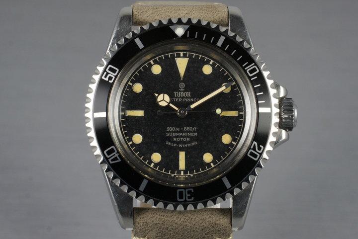 1964 Tudor Submariner 7928 Chapter Ring Dial photo