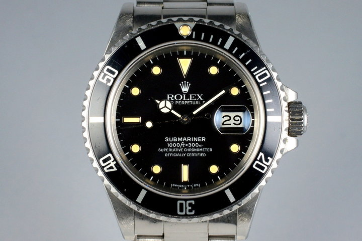 1987 Rolex Submariner 168000 photo