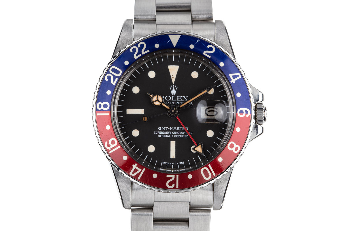 1975 Rolex GMT-Master 1675 with Radial Dial photo, #0