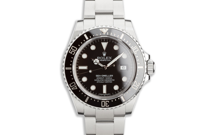 2014 Rolex Sea-Dweller 116600 with Box and Card photo