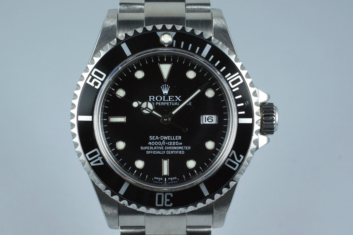 2005 Rolex Sea Dweller 16600T with Box and Papers photo, #0