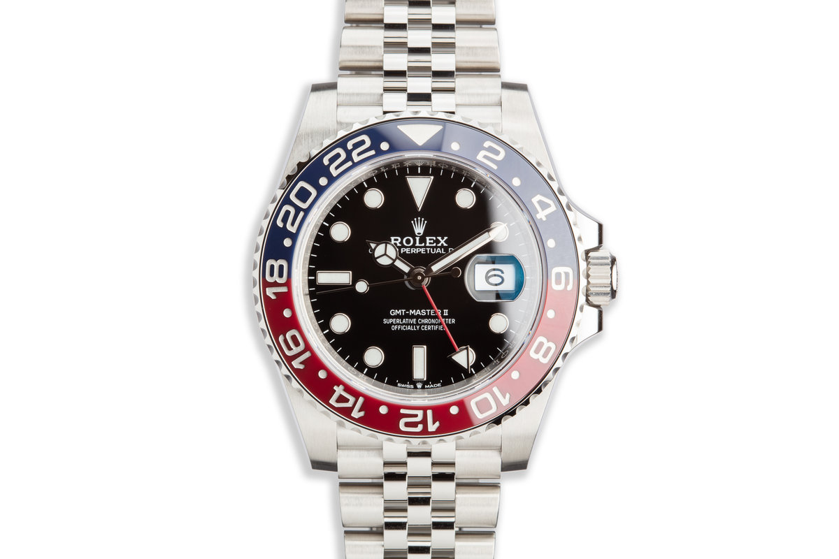 2020 Rolex GMT-Master II 126710BLRO with Box and Card photo, #0