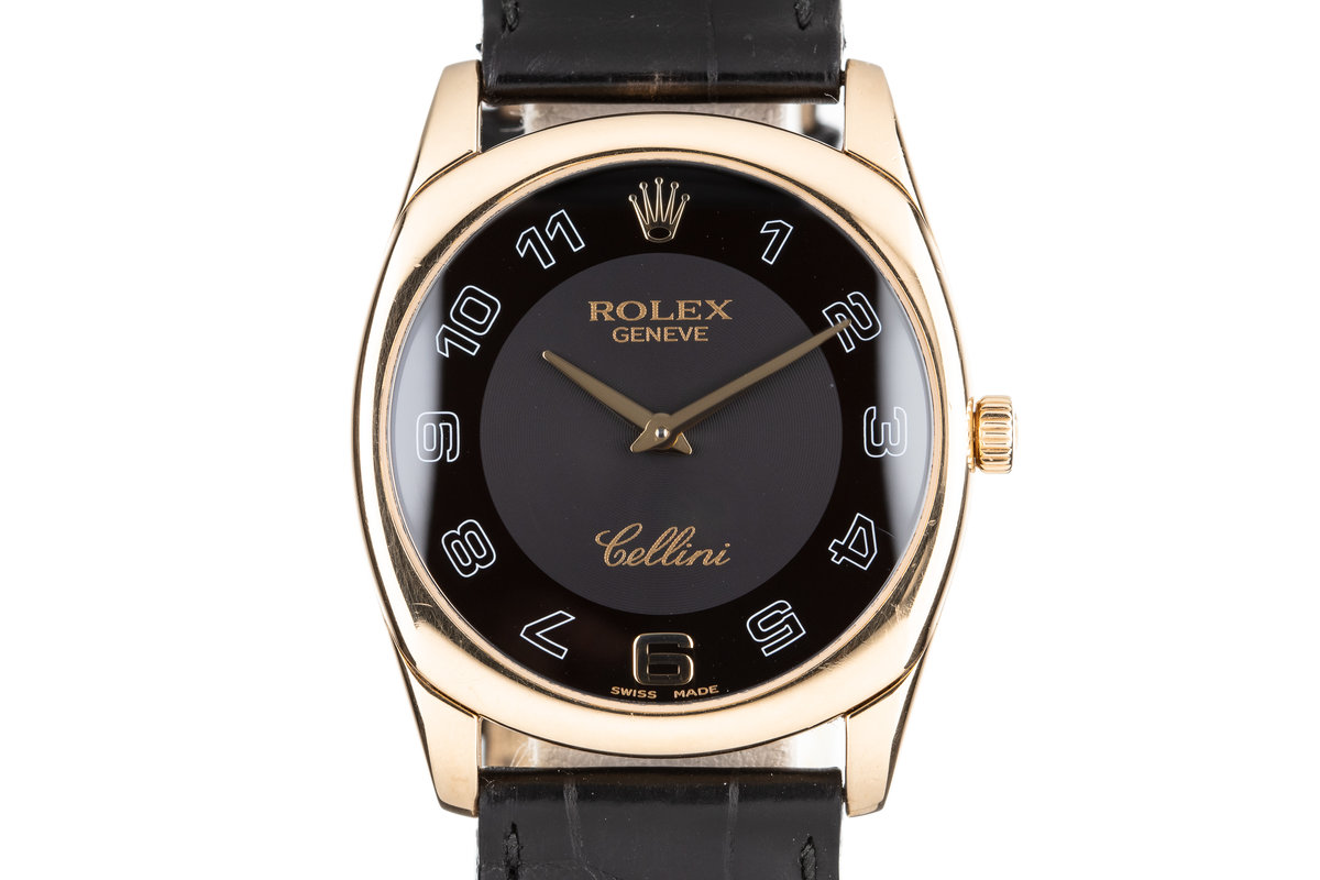 2007 Rolex 18K Cellini Danaos 4233 photo, #0