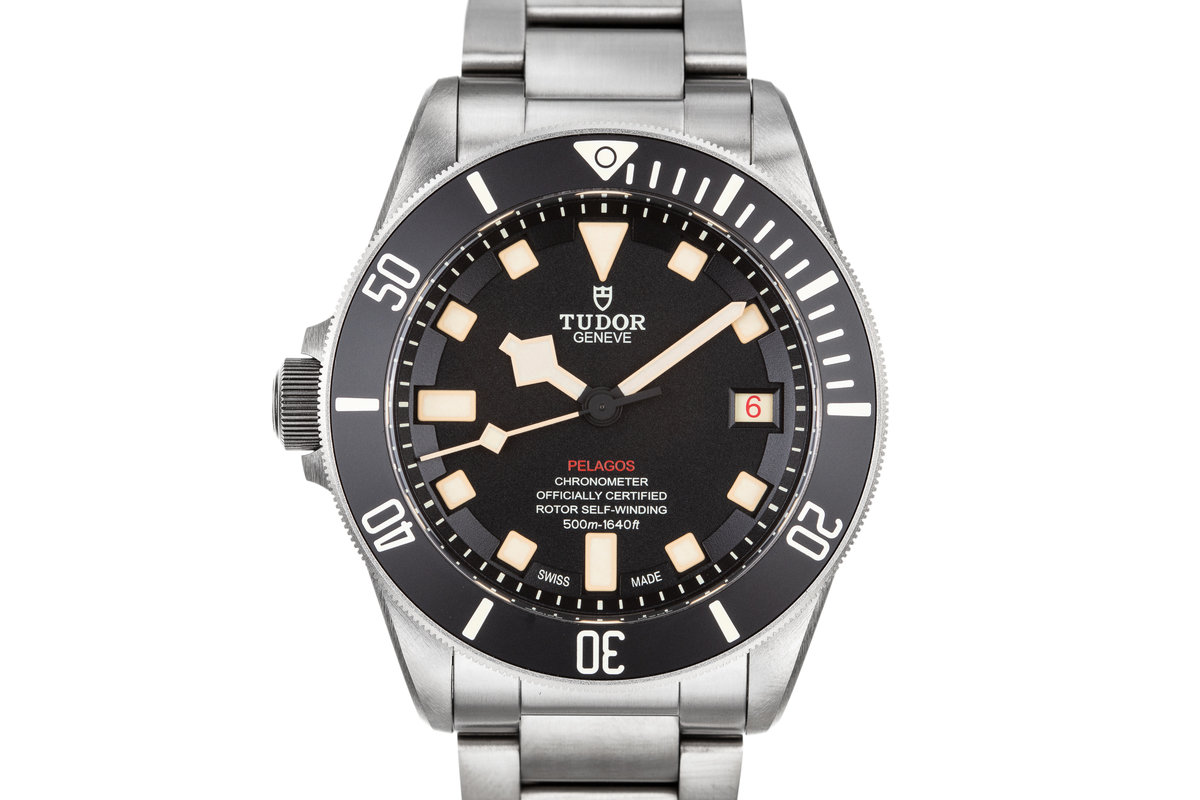 2016 Tudor Titanium Left Wind Pelagos I677222 with Box and Papers photo, #0