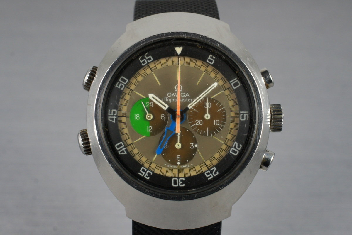 1969 Omega 910 Flightmaster Tropical Dial photo, #0