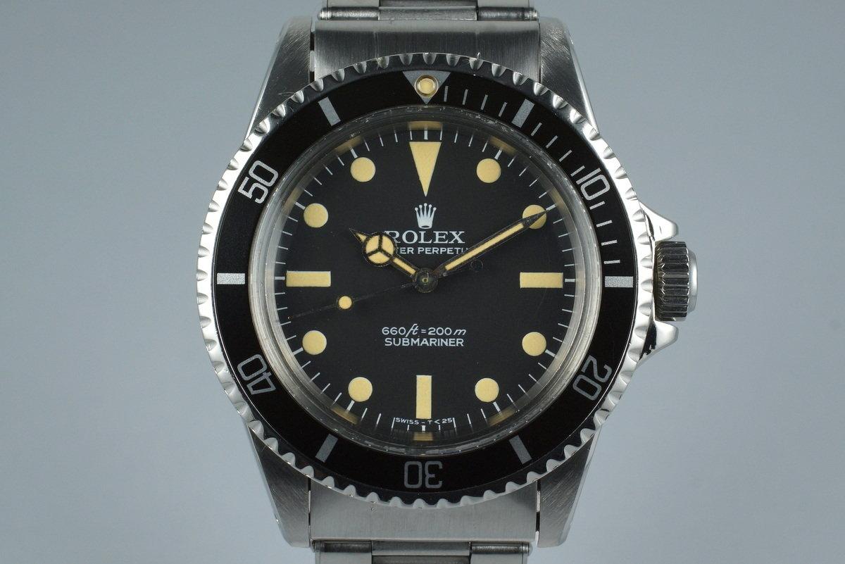 1967 Rolex Submariner 5513 Pre Comex Dial photo, #0