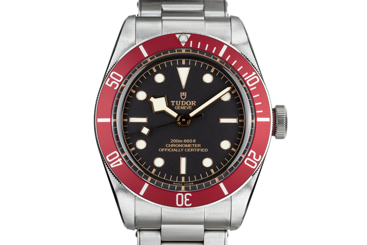 2017 Tudor Heritage Black Bay 79230R with Box and Papers photo, #0