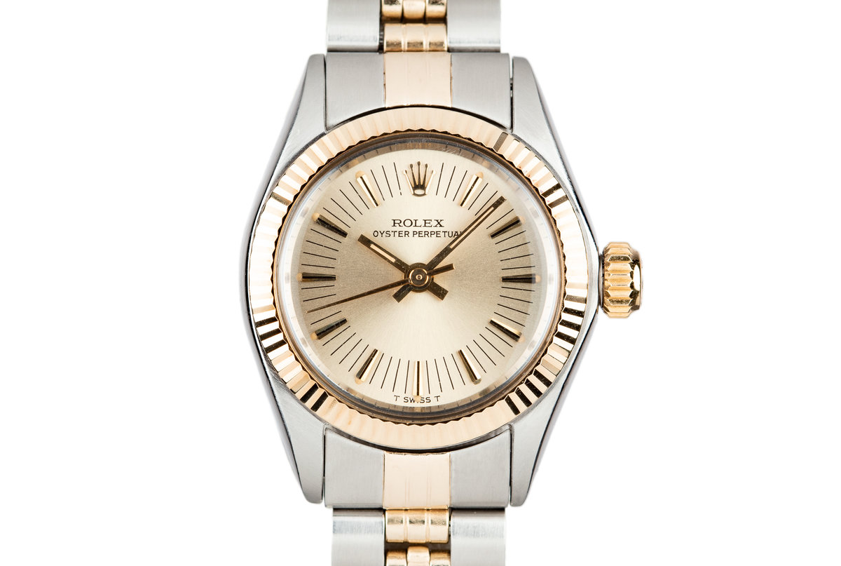 1972 Rolex Two-Tone Ladies Oyster Perpetual 6719 photo, #0