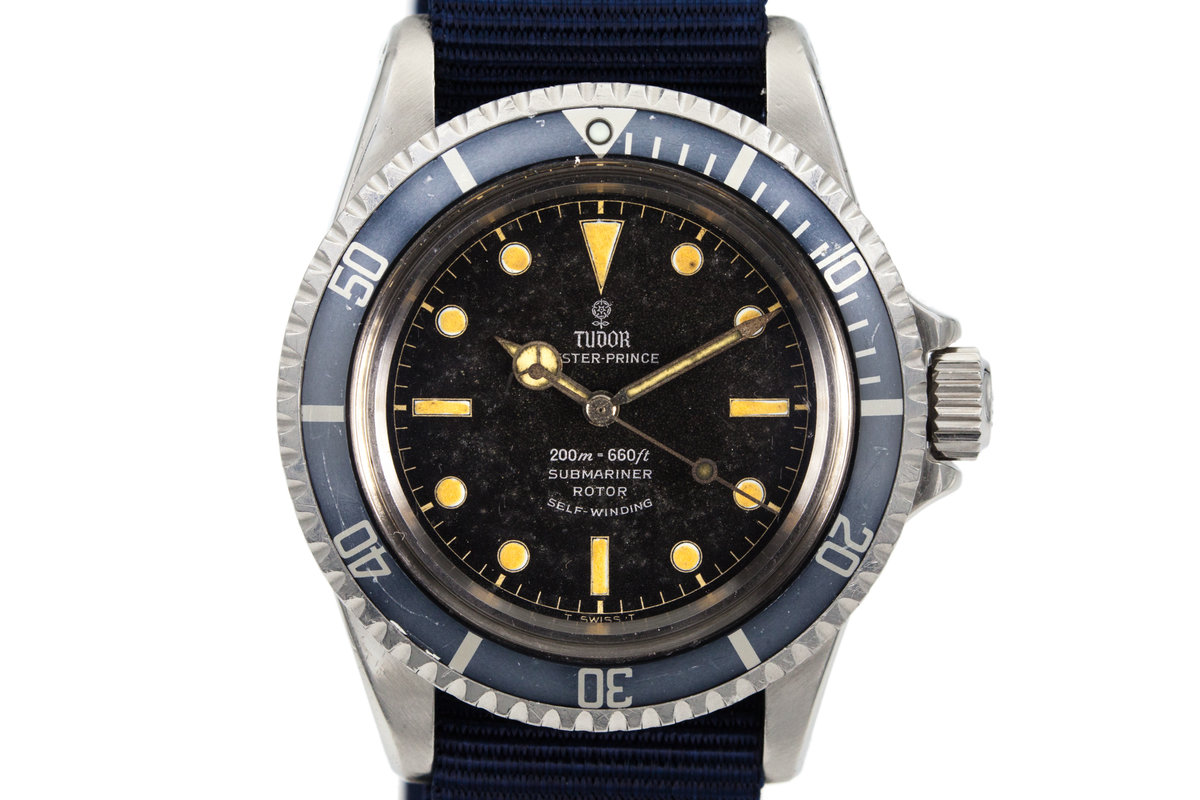 1964 Tudor Submariner 7928 Chapter Ring Dial photo, #0